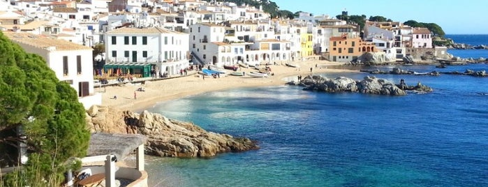 Calella de Palafrugell is one of Costa Brava - España.