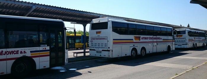 Autobusové nádraží Písek is one of Písek.