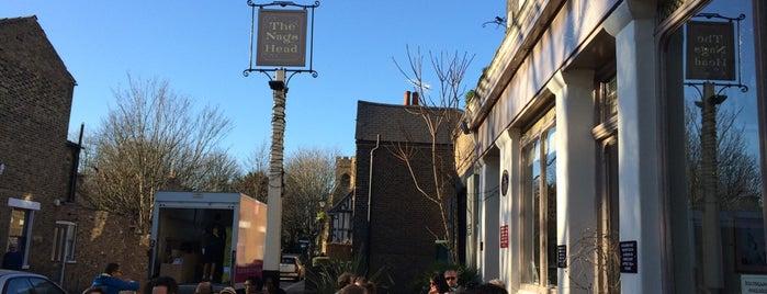 Nags Head is one of London's Best Beer Gardens.