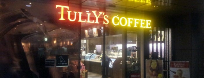 Tully's Coffee is one of カフェ.