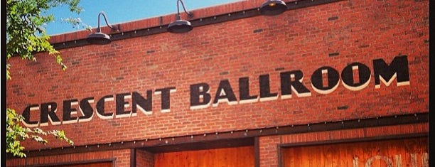 Crescent Ballroom is one of How The West Was Won.