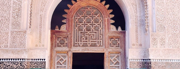 Medersa Ben Youssef is one of Travel Guide to Marrakesh.