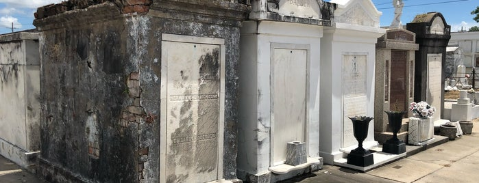 St Roch Cemetery is one of New Orleans.