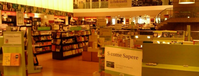 Feltrinelli is one of Libraries and Bookshops.