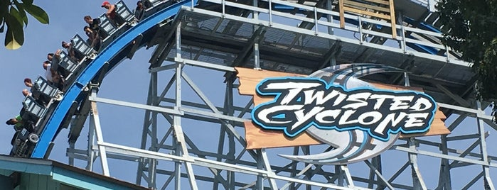 Twisted Cyclone is one of ROLLER COASTERS.