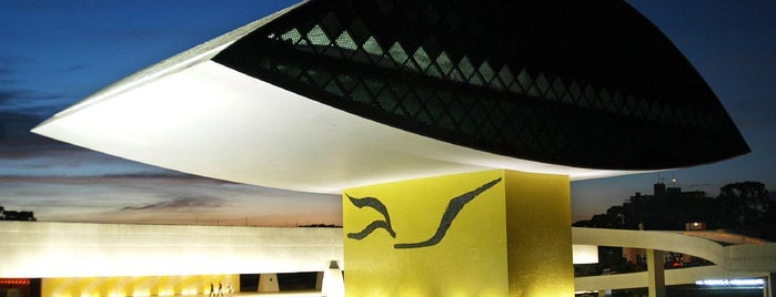 Oscar Niemeyer Museum (MON) is one of Dicas culturais.