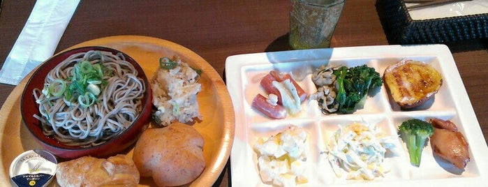 The Buffet Style SARA is one of Restaurant in Kyoto.