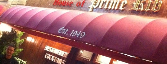 House of Prime Rib is one of San Francisky.