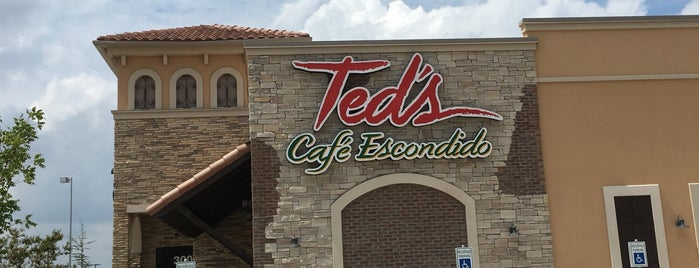 Ted's Cafe Escondido is one of Oklahoma.