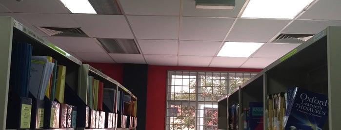 Perpustakaan Politeknik Muadzam Shah is one of Learning Centers,MY #5.