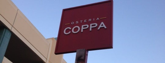 Osteria Coppa is one of 2012 San Francisco Michelin Bib Gourmands.