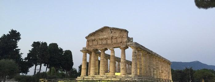 Paestum is one of Sorrento-Capri.