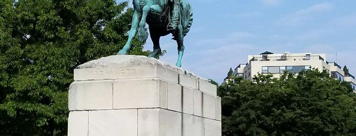 Lieutenant General George Washington Statue is one of DC's favorites.
