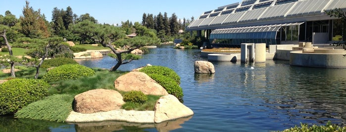 Japanese Gardens is one of I'm in L.A. you trick!.