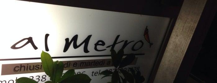 Ristorante Al Metrò is one of Mangiare.