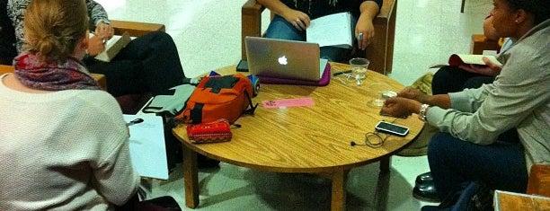 Ziskind Lounge is one of Best BU Study Spots.