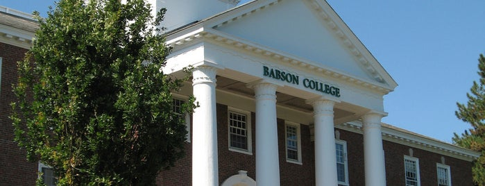 Tomasso Hall is one of Babson.