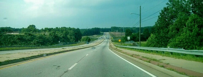 I-20 at Fulton Industrial Boulevard SW is one of favorites.