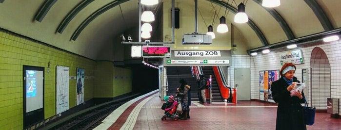 U Hauptbahnhof Süd is one of Alles in Hamburg.