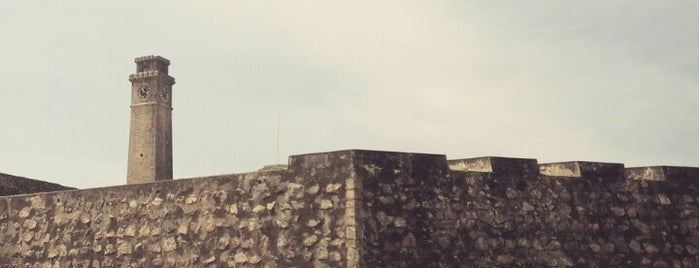 Galle Fort is one of UNESCO World Heritage Sites (Asia).