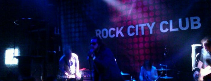 Rock City is one of Novosibirsk TOP places.