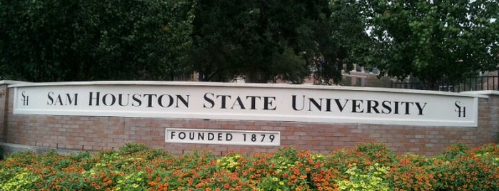 Sam Houston State University is one of Texas Higher Education.