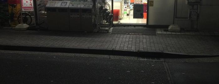 セブンイレブン 中野新橋店 is one of whatwhat_i_do.