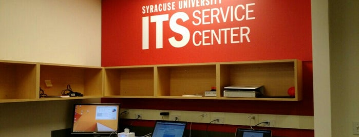 ITS Service Center is one of NYC Syracuse UNI.