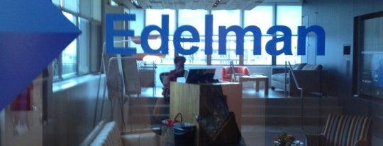 Edelman is one of Advertising Agencies.