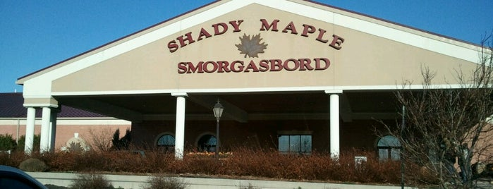 Shady Maple Smorgasbord is one of Local stuff to do.