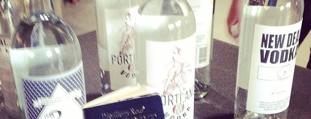 New Deal Distillery is one of uwishunu portland.