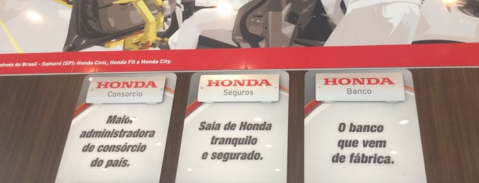 Honda South America is one of Dealers.