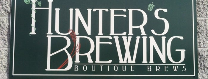 Hunter's Brewing is one of Chicagoland Breweries.