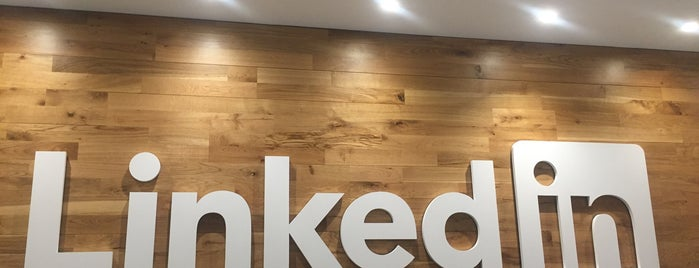 LinkedIn New York Office is one of Startups & Spaces NYC + CA.