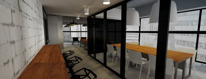 The Workground is one of Cowork Spaces in HK.