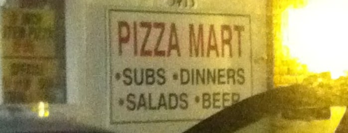 Pizza Mart is one of Columbus Pizza.