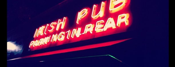 The Irish Pub is one of Quincy- City of Presidents.