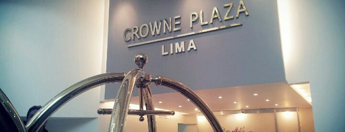 Hotel Crowne Plaza is one of Perú.