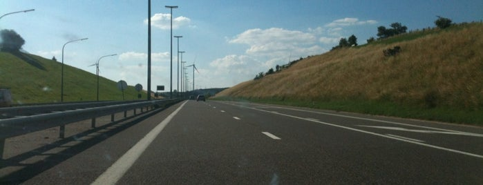 E42 - Recht is one of Belgium / Highways / E42.