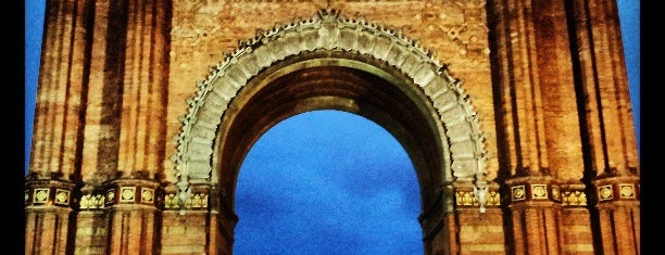 Arco del Triunfo is one of My Barcelona!.