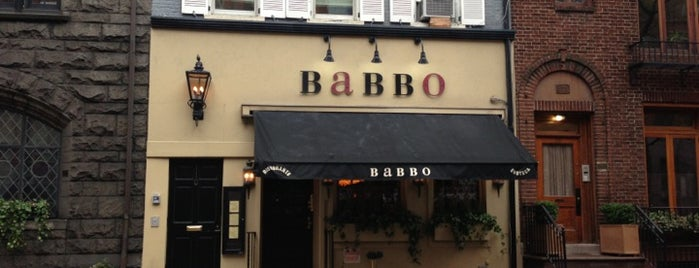Babbo Ristorante is one of I Want Somewhere: Restaurants & Bars.