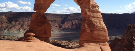 Delicate Arch is one of Outdoorsy TODO.