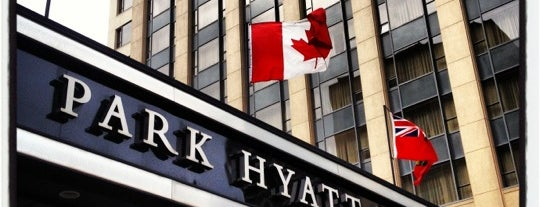 Park Hyatt Toronto is one of TIFF: Best bets for après-film bevvies.