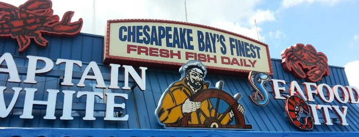 Captain White's Seafood is one of The 15 Best Places for Oysters in Washington.