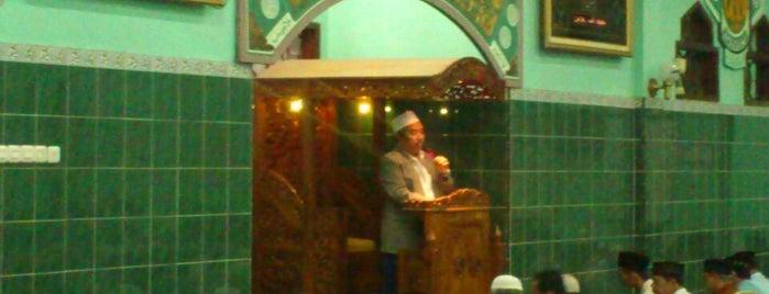 Masjid Al-Muhajirin Perum Manisrejo I is one of Favorite Arts & Entertainment.