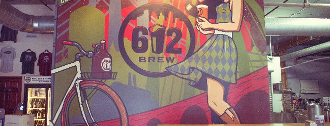 612 Brew is one of Minneapolis-St. Paul Tap Room Directory.