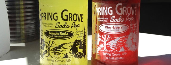 Spring Grove Soda Pop is one of Heavy Table's 2013 Minnesota State Fair Tips.