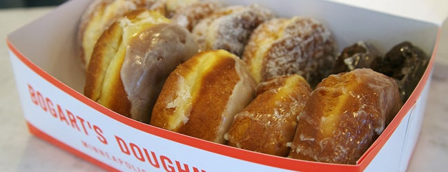 Bogart's Doughnut Co. is one of Out-of-Towners' Guide to Minneapolis - 2015.
