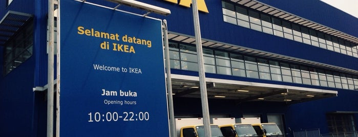 IKEA is one of Mall @ Alam Sutera Directory.