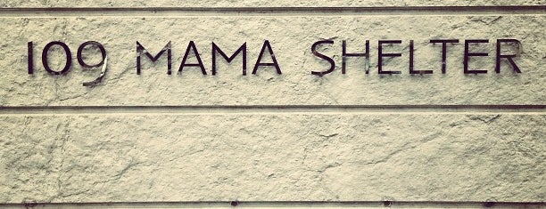 Mama Shelter is one of Hotels Round The World.